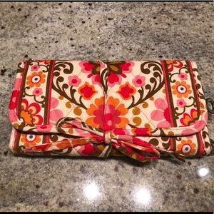 Vera Bradley jewelry case-Perfect condition!!